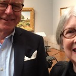 Mingel i gallerisalen efter årsmötet